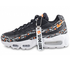 Chaussures Nike Air Max 95 Just Do It noire