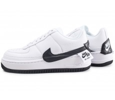 new product 2629e c5aa0 Chaussures Nike Air Force 1 Jester XX blanche et noire femme