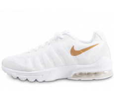 Chaussures Nike Air Max Invigor blanche junior
