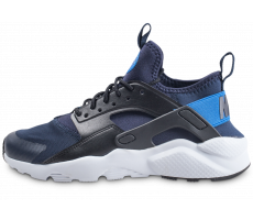 Chaussures Nike Air Huarache Run Ultra bleue junior