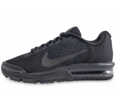 Chaussures Nike Air Max Sequent 2 noir junior