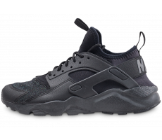 Chaussures Nike Air Huarache Run Ultra noire junior