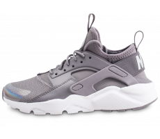Chaussures Nike Air Huarache Run Ultra grise junior