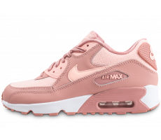 Chaussures Nike Air Max 90 SE Mesh rose junior