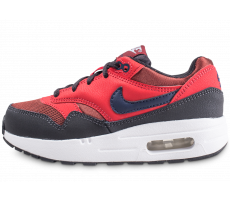 Chaussures Nike Air Max 1 rouge enfant