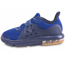 Chaussures Nike Air Max Sequent 3 bleu royal enfant