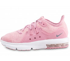 Chaussures Nike Air Max Sequent 3 rose enfant
