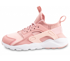 Chaussures Nike Air Huarache Run Ultra SE rose enfant