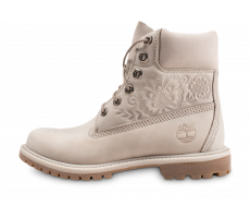 Chaussures Timberland 6-Inch Premium Boots rose pâle femme