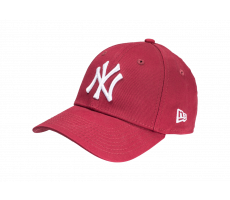 Accessoires New Era Casquette Essential 9/40 MLB New York Yankees bordeaux
