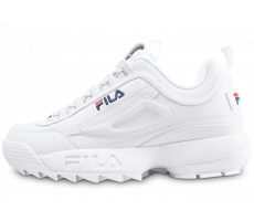 Chaussures Fila Disruptor ll homme blanche