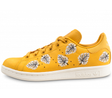 detailed look d02c0 fadca Chaussures adidas Stan Smith The Farm Company jaune femme