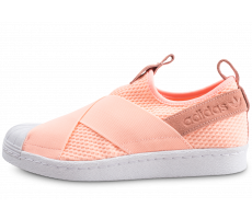 Chaussures adidas Superstar Slip-on orange femme