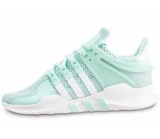 Chaussures adidas EQT support ADV verte femme