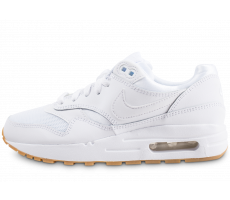 Chaussures Nike Air Max 1 blanche junior