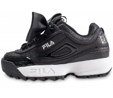 Chaussures Fila Disruptor Glam noire femme