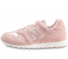 Chaussures New Balance WL373PPI rose et blanc femme
