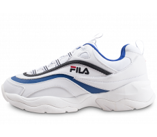Chaussures Fila Ray blanche et bleue