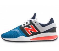 Chaussures New Balance MS247NMU bleu et orange