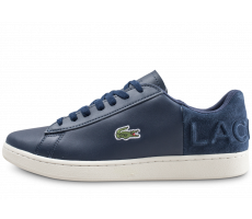 Chaussures Lacoste Carnaby Evo bleu marine