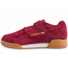 Chaussures Reebok Workout Plus bordeaux gum