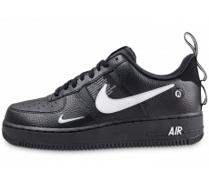 Chaussures Nike Air Force 1 '07 LV8 Utility Noire et blanche