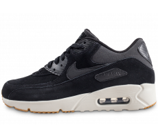 Chaussures Nike Air Max 90 Ultra 2.0 LTR noire et blanche