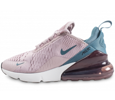the latest 3bb50 6d138 Chaussures Nike Air Max 270 rose et bleue femme