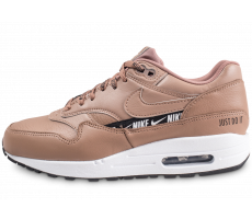 Chaussures Nike Nike Air Max 1 SE Overbranded beige femme
