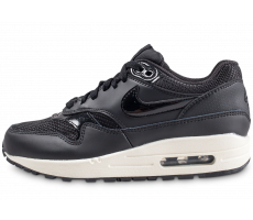 Chaussures Nike Air Max 1 black summit femme