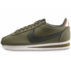 Chaussures Nike Classic Cortez Leather kaki femme