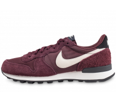 Chaussures Nike Internationalist bordeaux femme