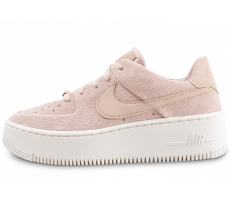 Chaussures Nike Air Force 1 Sage Low rose