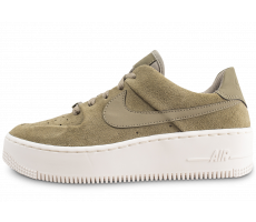 Chaussures Nike Air Force 1 Sage Low Kaki femme