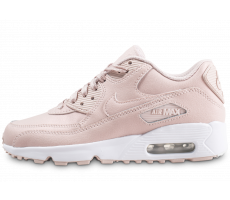 Chaussures Nike Air Max 90 Leather SS rose junior