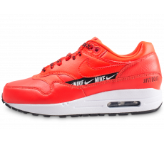 Chaussures Nike Air Max 1 SE Overbranded rouge femme