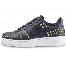Chaussures Nike Air Force 1 '07 XX noire et or femme