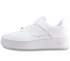 Chaussures Nike Air Force 1 Sage Low triple blanc femme