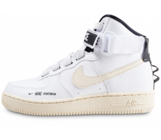 Chaussures Nike Air Force 1 High Utilty blanche femme