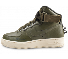 Chaussures Nike Air Force 1 High Utility Olive femme