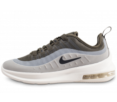 Chaussures Nike Air Max Axis grise et kaki junior