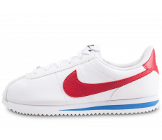 best sneakers ac111 a30a2 Chaussures Nike Cortez Basic blanche junior