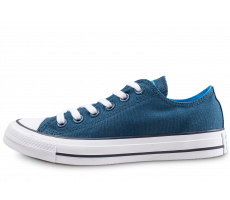 Chaussures Converse Chuck Taylor All Star low bleue femme