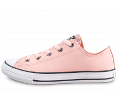 Chaussures Converse Chuck Taylor All Star rose et noir junior