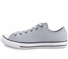 Chaussures Converse Chuck Taylor All Star gris et noir junior