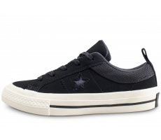 Chaussures Converse One Star OX noire enfant