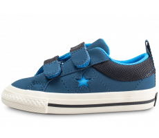 Chaussures Converse One Star 2V OX Straps bleu