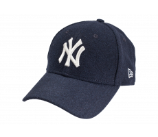 Accessoires New Era Casquette Winter Utility Melton MLB  New York Yankees bleu marine