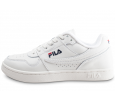 Chaussures Fila Arcade Low blanche bleue rouge junior