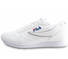 Chaussures Fila Orbit Low blanc et gris junior